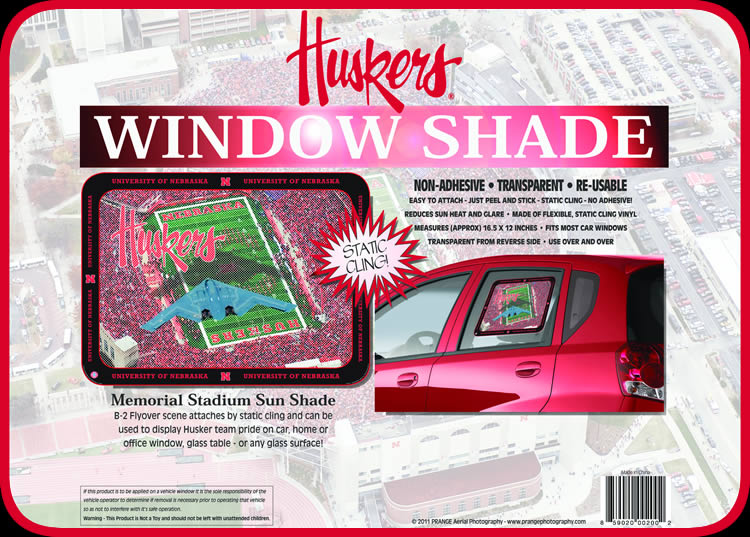 Prange Aerial Photography: Huskers Sun Shade